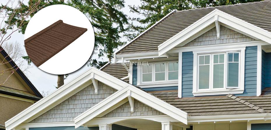 木纹型别墅房顶用瓦wm-05